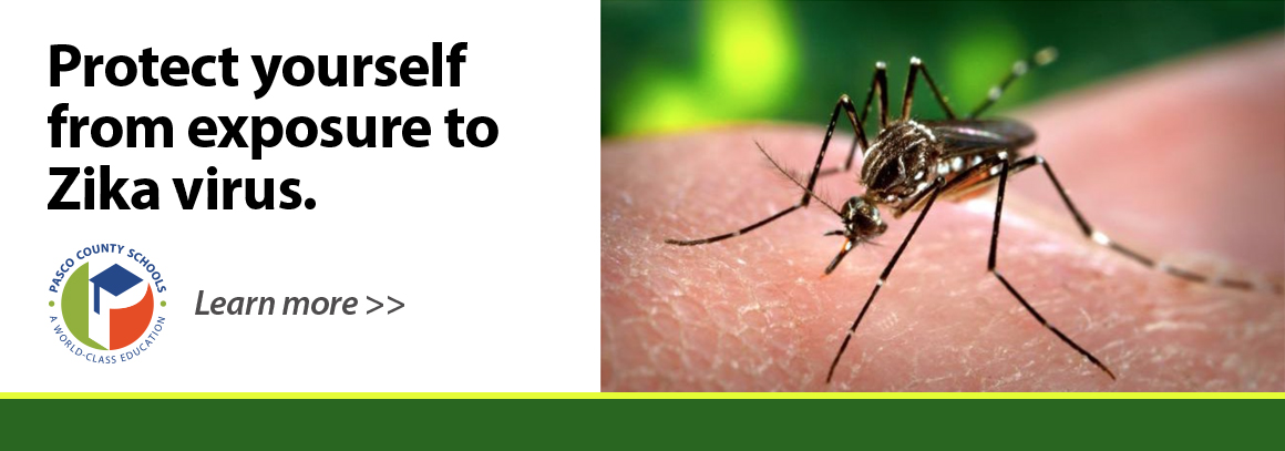 Tap to visit our health page with info on the Zika virus.